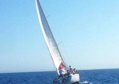 Escursioni Asinara scuola di vela sardegna asinara - Gite in barca nel parco nazionale dell'asinara - Asinara Sail Experience (3)