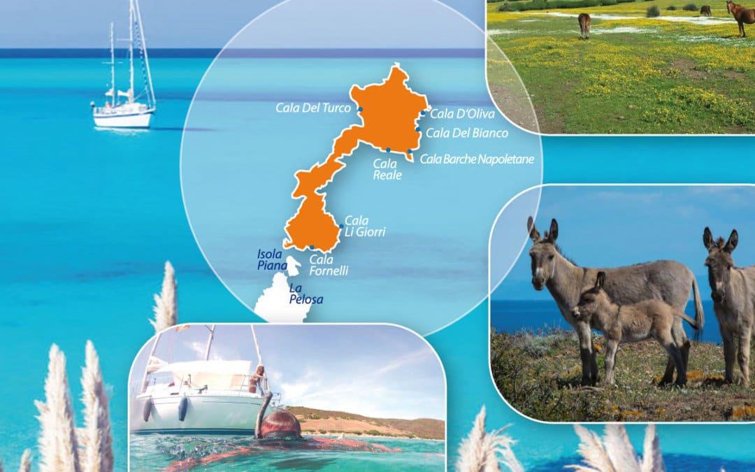 Mappa del Parco dell'Asinara